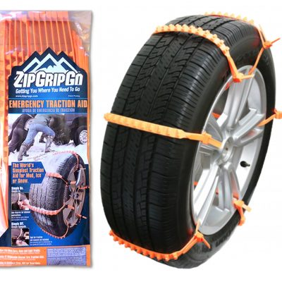 Order Zip Grip Go Tire Traction Aid strap on device emergency safety